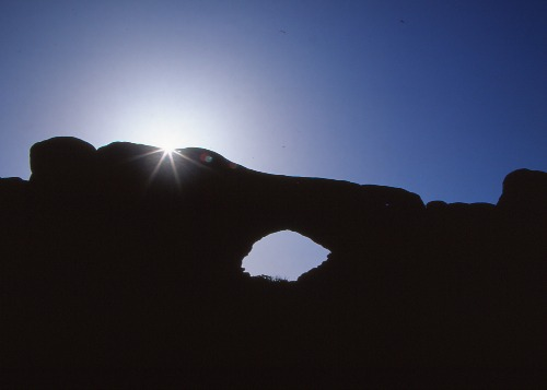 Sunburst North Window Arch/Arches NP