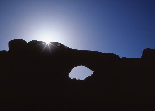 Sunburst North Window Arch/Arches NP