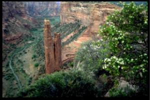 Spider Rock Canyon de Chelly National Monument
