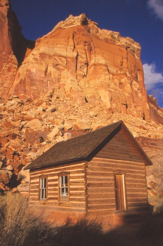 Historic School House Capitol Reef NP