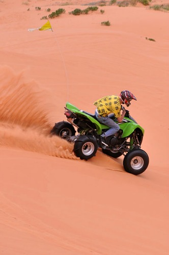 OHV Rider - Coral Pink Sand Dunes