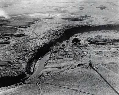 Future Site  of Glen Canyon Bridge