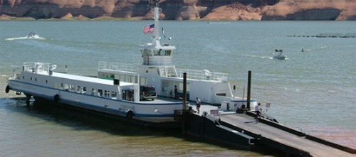 Lake Powell Ferry