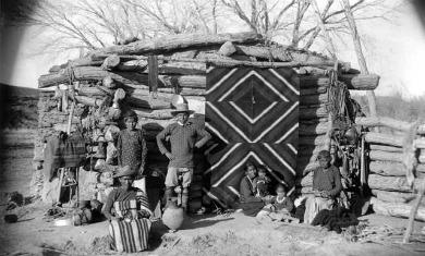 Navajo Winter Hogan