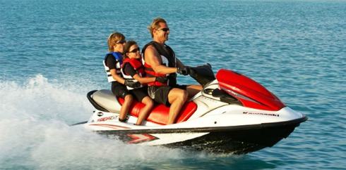 Jet Skiing Lake Powell