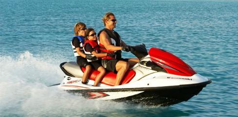 Jet Skiing Lake Powell