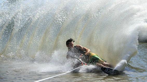 Water Skiing at Lake Powell
