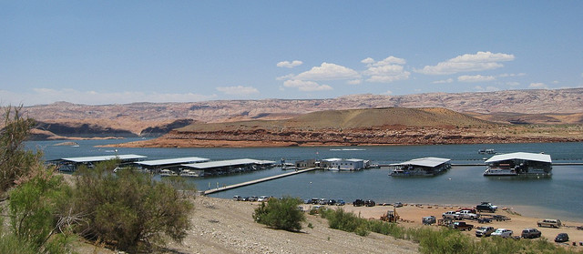 Hall's Crossing Marina Lake Powell