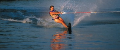 Water Skiing at Lake Powell