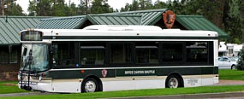 Shuttle Bus Bryce Canyon NP