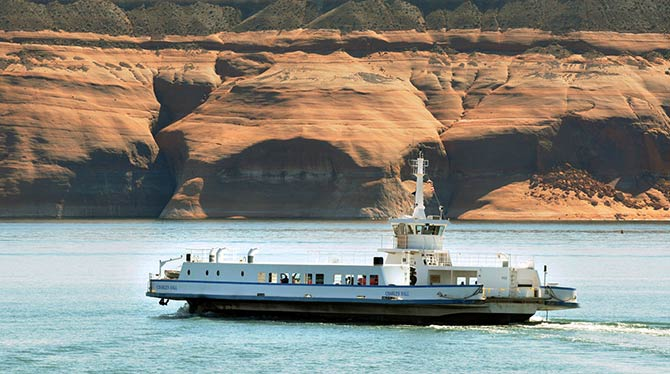 Lake Powell Ferry