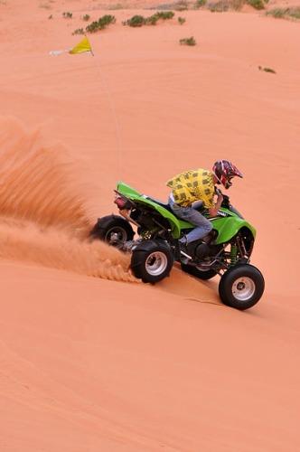 OHV Rider - Coral Pink Sand Dunes