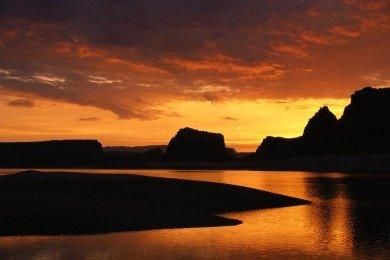 Sunset Lake Powell