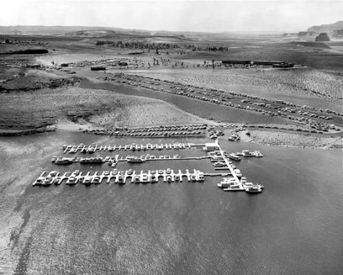 Lake Powell Wahweap Marina and Trailer Park