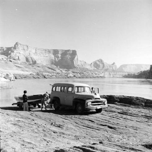 Lake Powell 1962