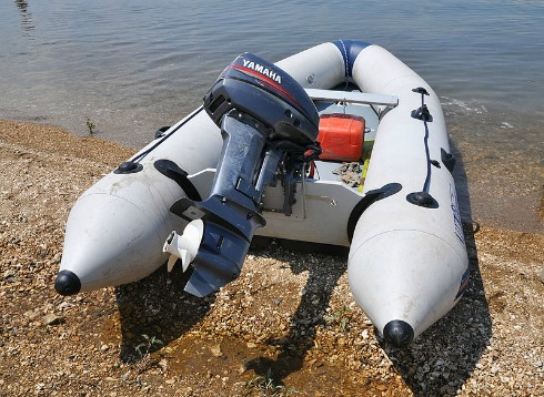 Inflatable Boat Lake Powell